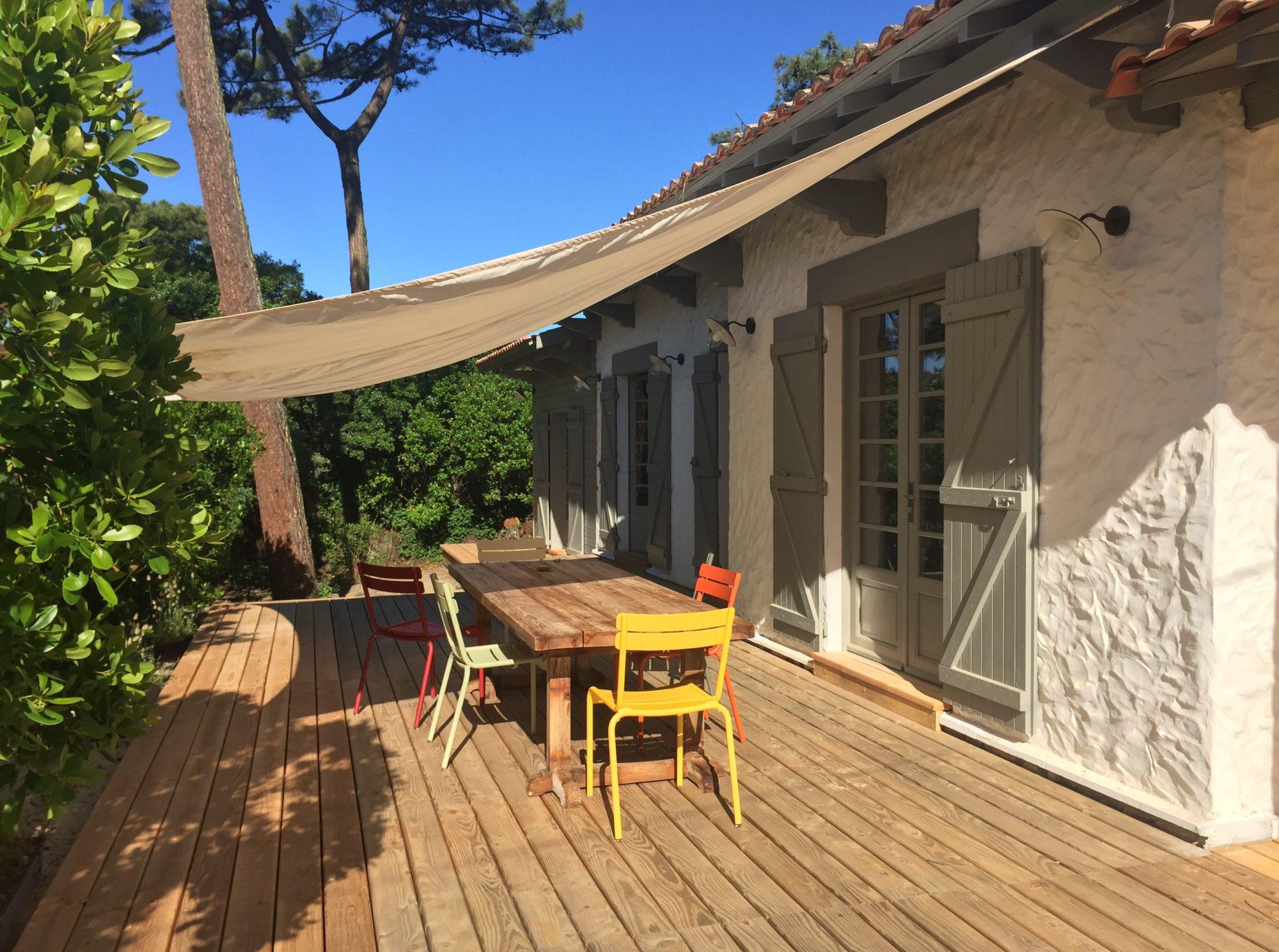 Location Maison au Cap Ferret en plein cœur du village